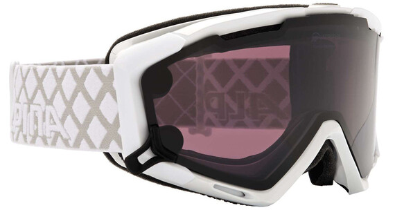 Alpina Panoma Magnetic Q+S S1+S3 goggles wit/zwart